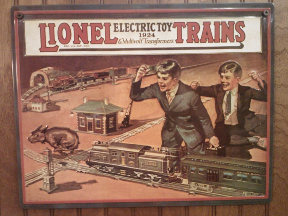 Lionel Electric Toy Trains