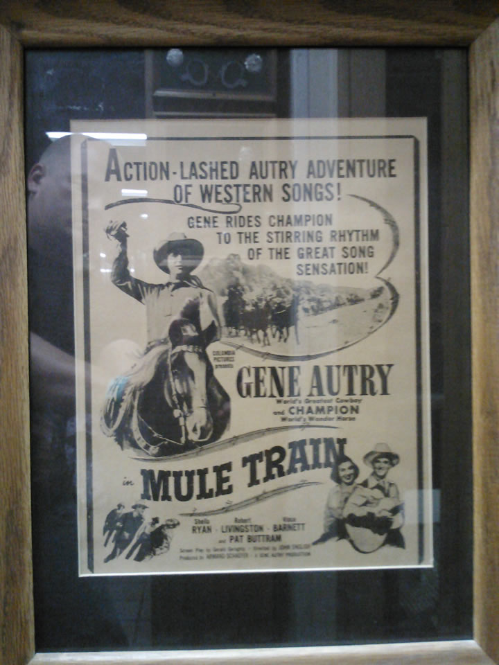 Mule Train Movie Poster