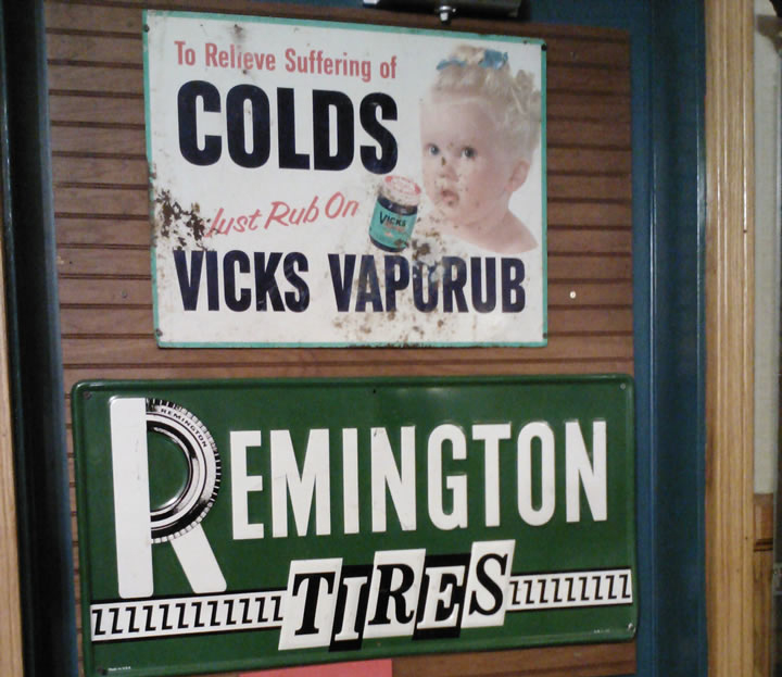 Vicks Vaporub and Remington Tires